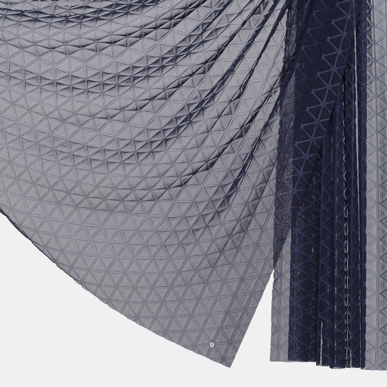 SCARF /  ADAGIO /  LARGE (navy x pylon)