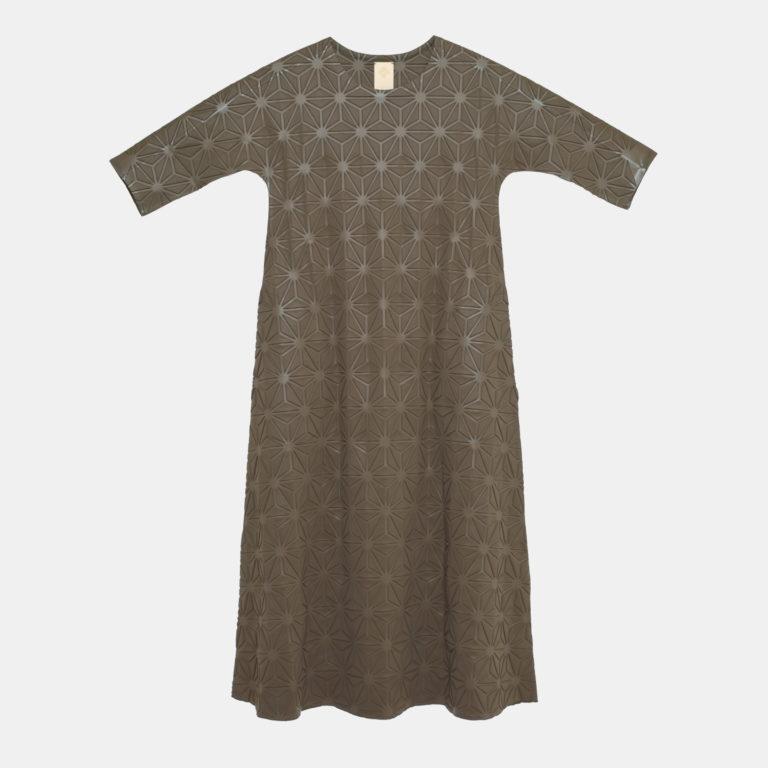 DRESS / MODERATO / QS (khaki x hemp)
