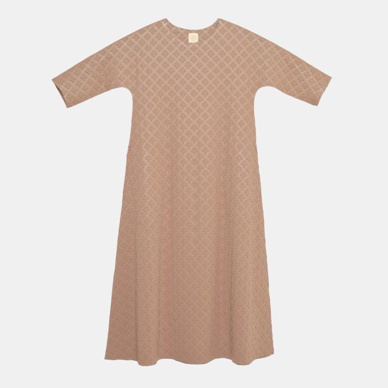 DRESS / MODERATO / QS (beige x crossL)